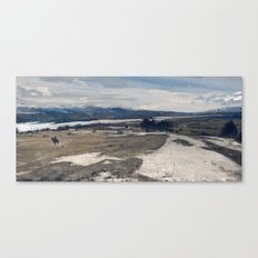 another day at work, wilderness Canvas Print
