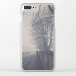 Cohen Clear iPhone Case