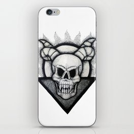 Demon Skull iPhone Skin