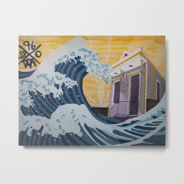 Through Hell & High Water Metal Print