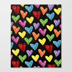 Midnight Love Canvas Print