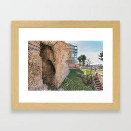 Roman Theater Framed Art Print