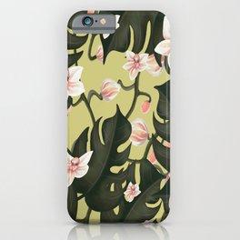 Flowers pattern  iPhone Case