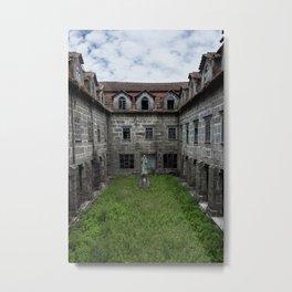 Abandoned monastery Metal Print