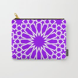 Moroccan Pattern 4 Purple Carry-All Pouch