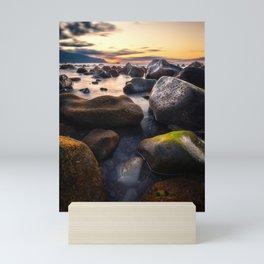 Beautiful Sunset Mini Art Print