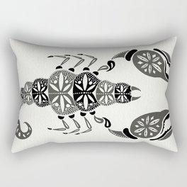 Black Scorpion Rectangular Pillow