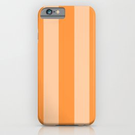 Sherbet Stripes iPhone Case