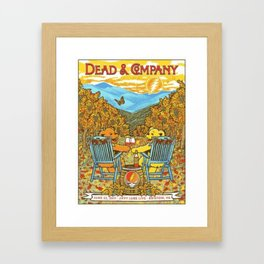 Dead and company Framed Art Print