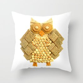 Wise Cracker Throw Pillow