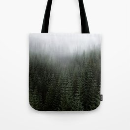Dizzying Misty Forest Tote Bag