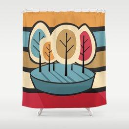 Humble Pie Shower Curtain