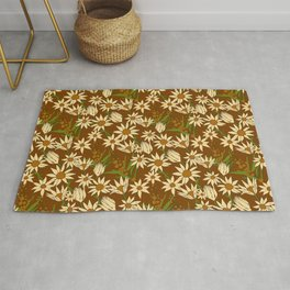 Flannel Flower Fields Rug