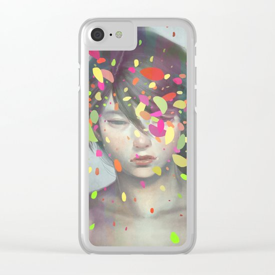 Colours 03 Clear iPhone Case