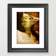 brood Framed Art Print