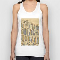 minimal Tank Tops featuring Ocean of love by Huebucket