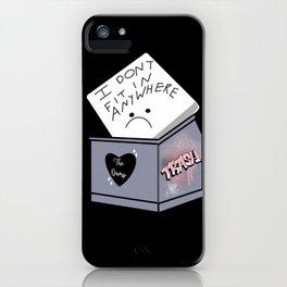Sad Trash iPhone Case