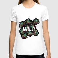 into the wild T-shirts featuring Wild by Camila Escat