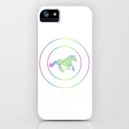 "Colorful Gift Shirt With An Illustration Of A Unicorn ""Fcking Magical"" T-shirt Design Myth Colorful iPhone Case"