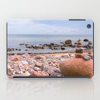 geology iPad Cases featuring At the beach by UtArt
