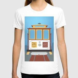 San Francisco, California - Skyline Illustration by Loose Petals T-shirt