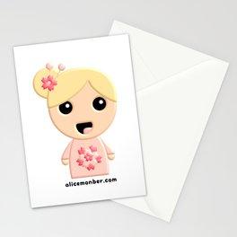 Ayumi Kokeshi Doll Stationery Cards