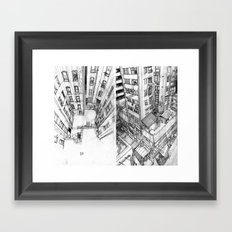 Bloc Framed Art Print