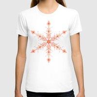 snowflake T-shirts featuring SnowFlake by Izabela Mikolajczyk
