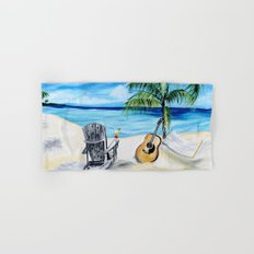 Beach Time with Martin Hand & Bath Towel