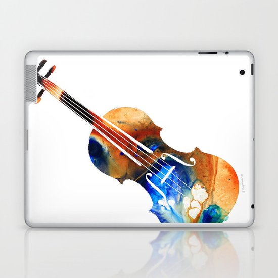 Violin Art By Sharon Cummings Laptop & iPad Skin