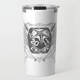 When the DM Smiles It's Already Too Late Gaming Travel Mug