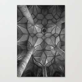 Looking Up - Mondesee Abbey, Salzburg Canvas Print