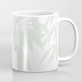 Leaves #Bamboo #Grey Coffee Mug