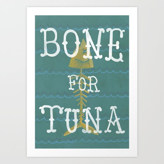 bone for tune (boardwalk empire) Art Print