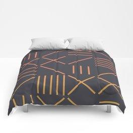 Geometric Shapes 09 Gradient Comforters
