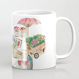 French Food Market Coffee Mug