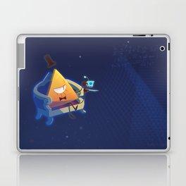 Bill Cipher [Gravity Falls] Laptop & iPad Skin