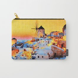 Sunset at MyKonos Carry-All Pouch