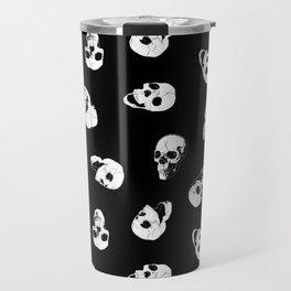 Gossiping Skulls Travel Mug