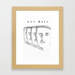 Les Rois Framed Art Print