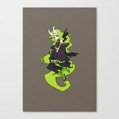Skulker Canvas Print