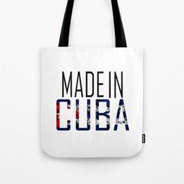 Made In Cuba Tote Bag
