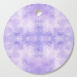 Light purple geometric design Cutting Board