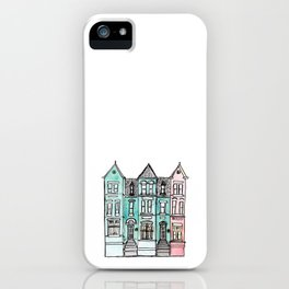 DC Row House No. 2 II U Street iPhone Case