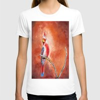 cardinal T-shirts featuring cardinal by HaMaD ArT