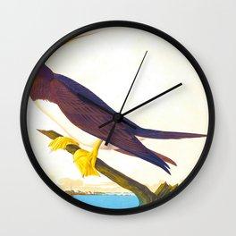 Booby Gannet Bird Wall Clock