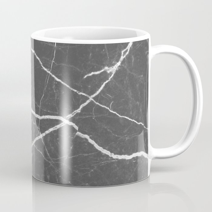 Gray marble abstract texture pattern Coffee Mug