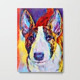 Bull Terrier 2 Metal Print