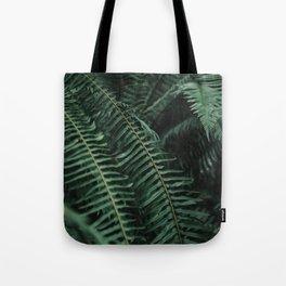 Forest Ferns Tote Bag
