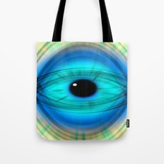 Eye abstract Tote Bag